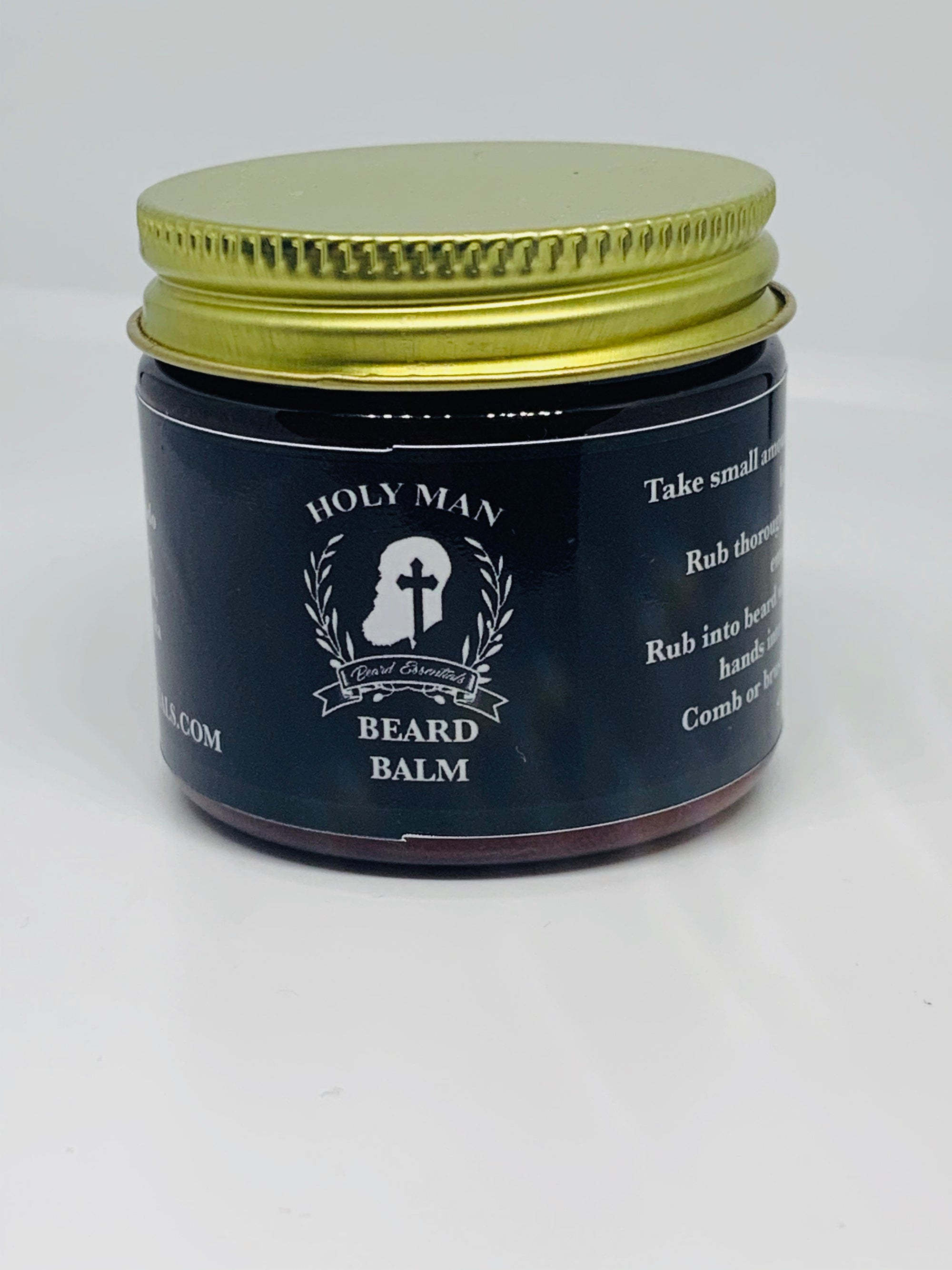 HOLY MAN BEARD Beard Balm - Holy Man Beard Essentials  facial hair, beard care, beard oil, beard products, skin care