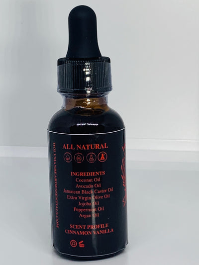 HOLY MAN BEARD PREMIUM BEARD OIL *SALVATION SCENT*