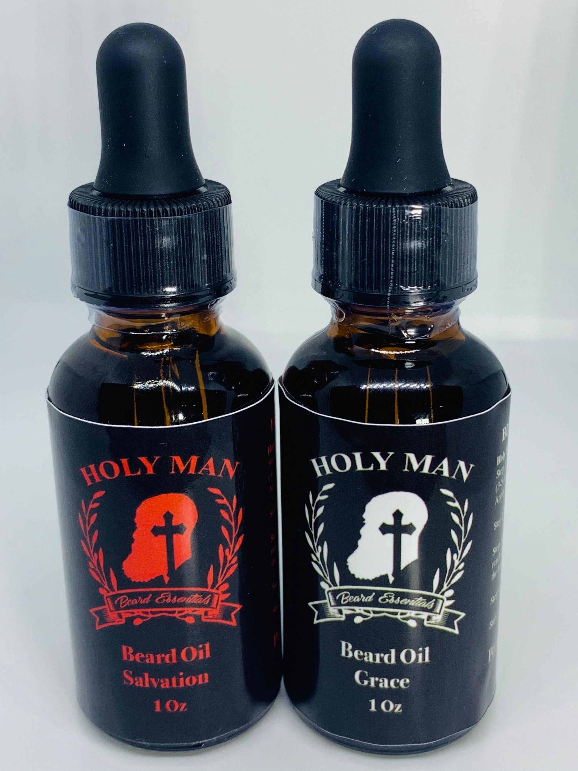 HOLY MAN BEARD REDEMPTION BEARD OIL SET
