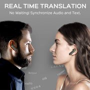 WT2 Plus AI Instant Translator Earbuds(Grey)