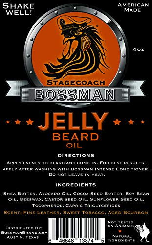 Bossman Jelly Beard Oil