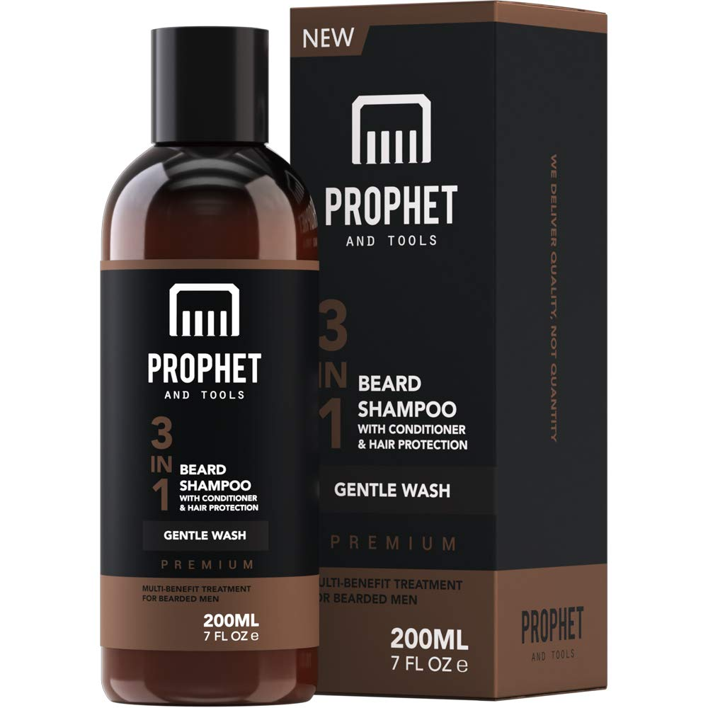 Prophet & Tools 3 In 1 Beard Wash