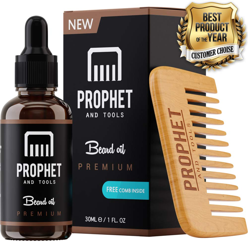 Prophet & Tools Beard Oil Original and Comb combo