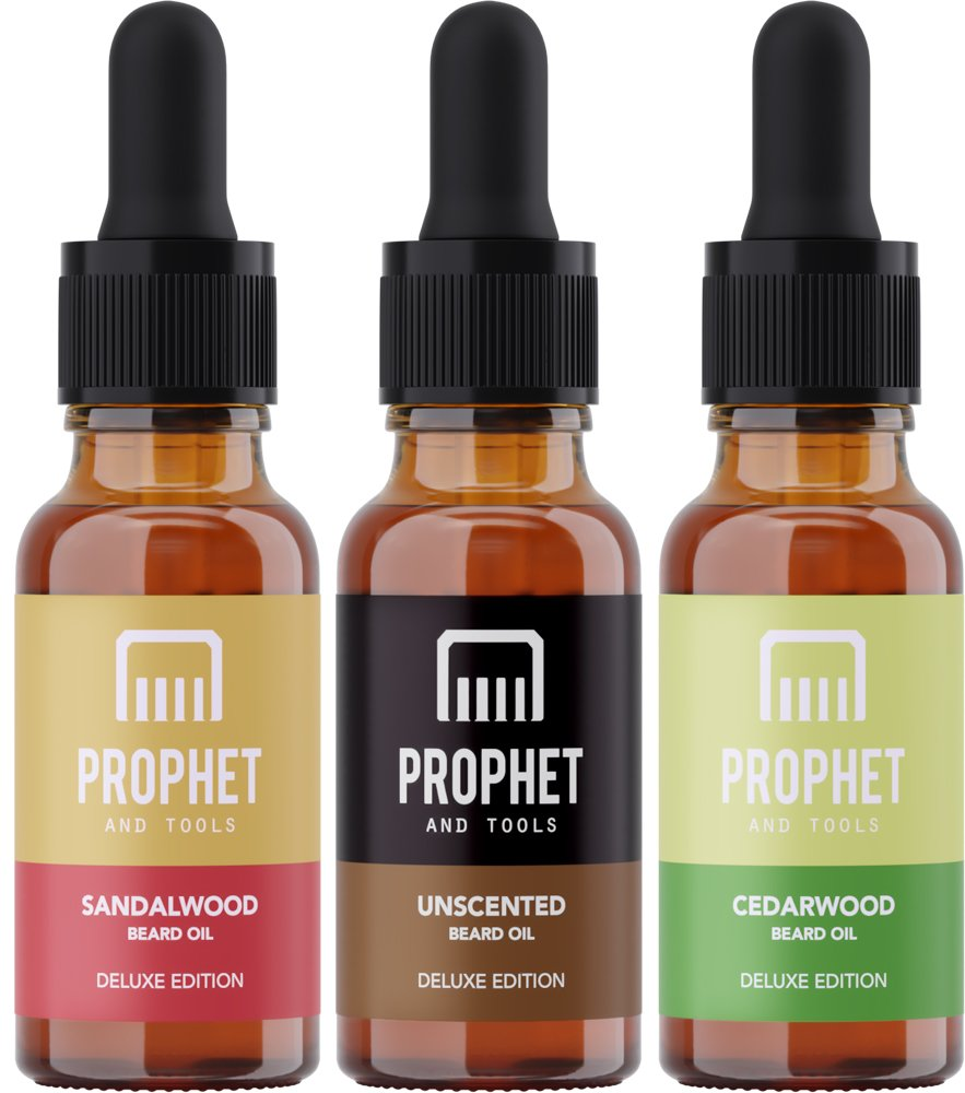 Prophet & Tools Triple Beard Oil Deluxe Set