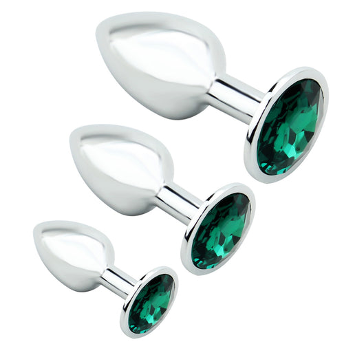 Jewelled Anal Plugs
