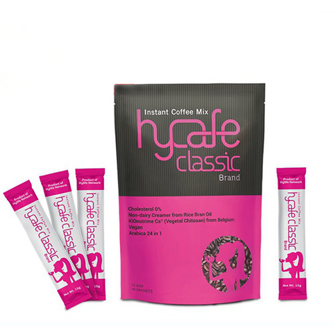 Hycafe classic Health Instant Coffee Mix - WELLVY wellness & beauty