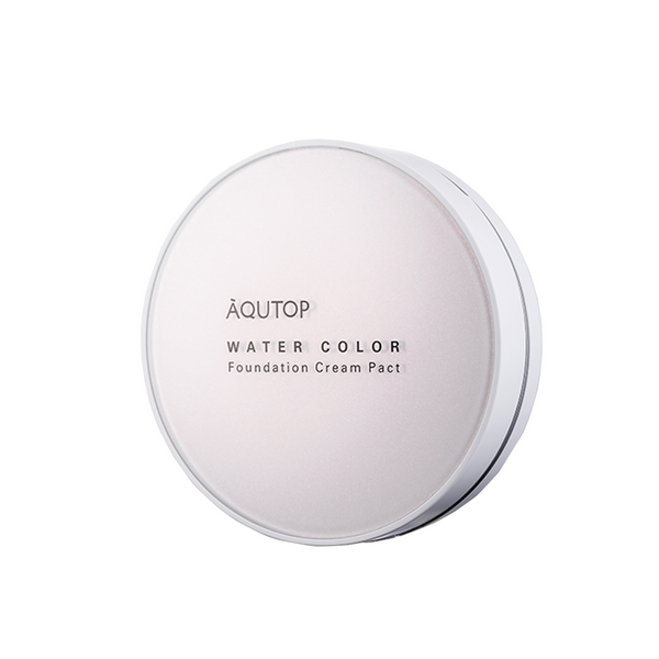 Aqutop Water Color Foundation Cream Pact - WELLVY wellness & beauty