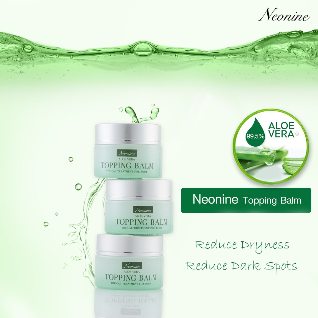 Neonine Aloe Vera Topping Balm Topical Treatment For Body - WELLVY wellness & beauty