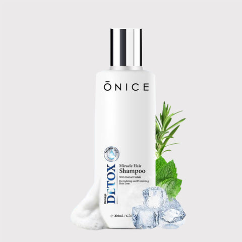 ONICE MIRACLE HAIR SHAMPOO - WELLVY wellness & beauty