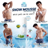 SNOW MOUSSE HAIR REMOVAL SPRAY - WELLVY wellness & beauty