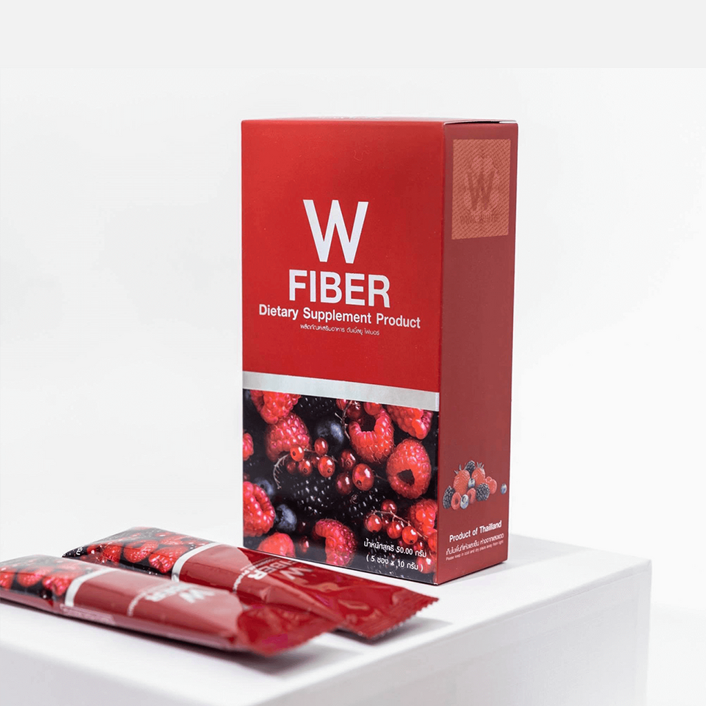 W FIBER HIGH FIBER DETOX DRINK - WELLVY wellness & beauty