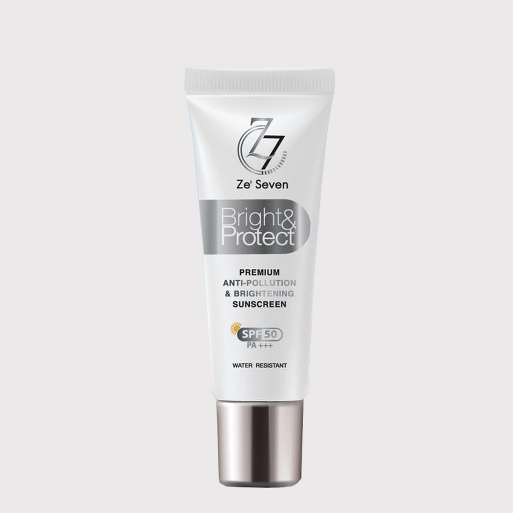 ZE'SEVEN BRIGHT & PROTECT SUNSCREEN SPF50 PA - WELLVY wellness & beauty