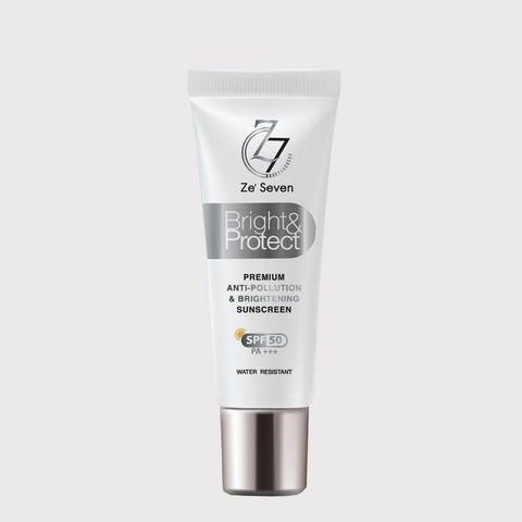 ZE'SEVEN BRIGHT & PROTECT SUNSCREEN SPF50 PA - ويلفي للعافية والجمال