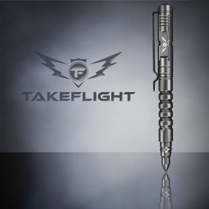 Tactical Pen for Self Defense - Model TF01-BC with Removable Cap and Glass Breaker