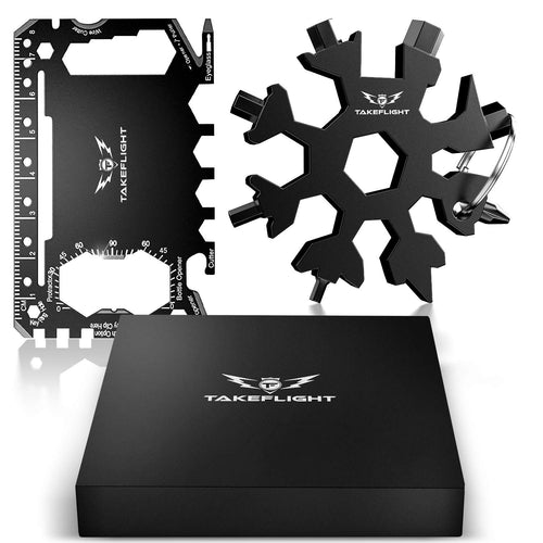 Snowflake Multitool Gift Set with FREE Credit Card Multitool