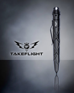 Tactical Pen for Self Defense Tool - Model TF03 with LED Flashlight