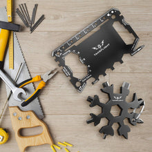 Load image into Gallery viewer, Snowflake Multitool Gift Set with FREE Credit Card Multitool