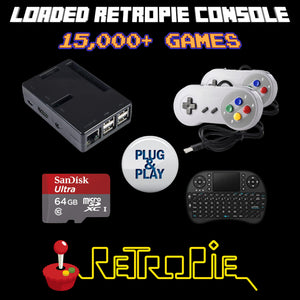 Retropie 130,000 Emulation Console Raspberry Pi 3 B+ Loaded