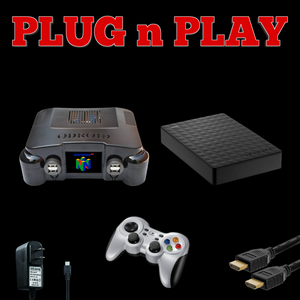 All in one Emulator Console - 15K- Plug n Play Games