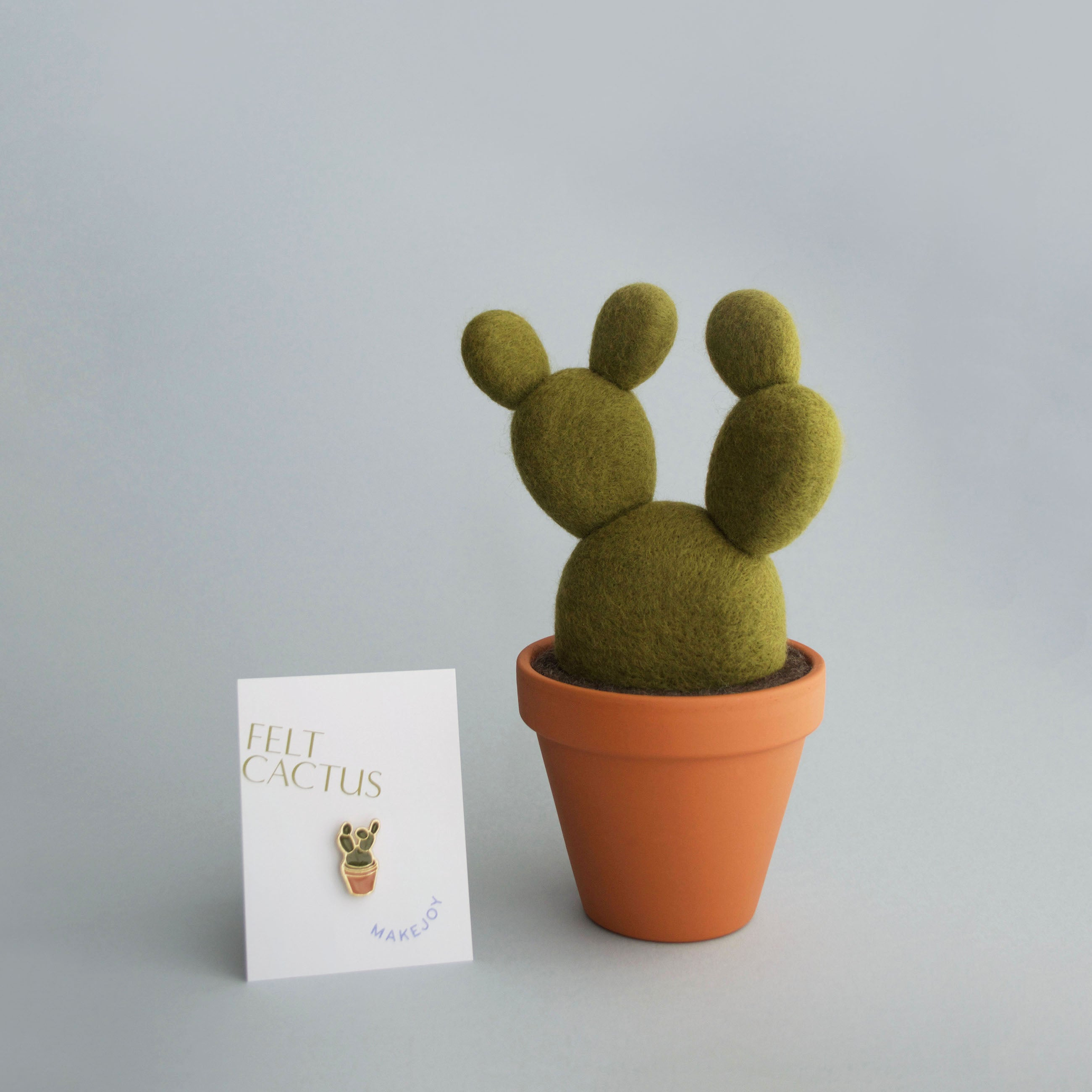 Makejoy Cactus Enamel Pin