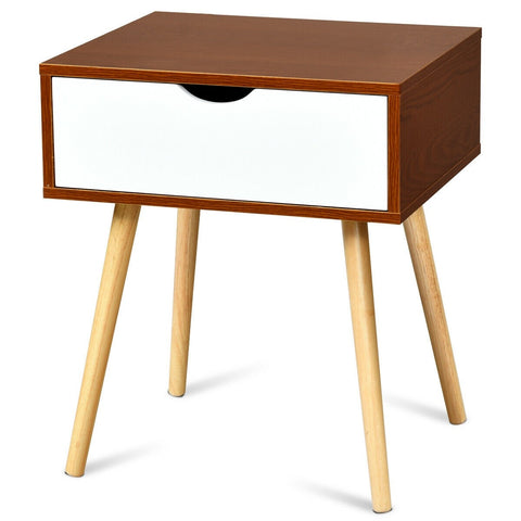 MENDOZA MID CENTURY MODERN END TABLE