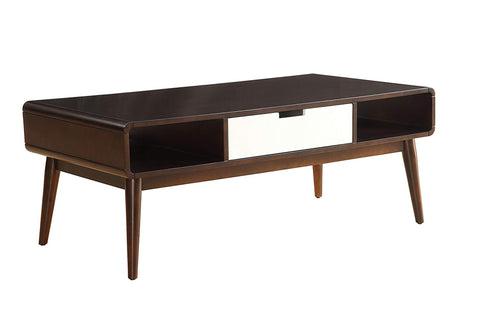 BELKIN MID CENTURY MODERN ESPRESSO COFFEE TABLE