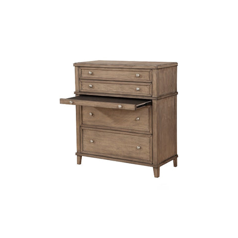 Brady 4 Drawer Chest with Slide Out Workstation