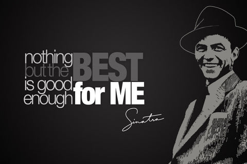 FRANK SINATRA NOTHING BUT THE BEST CANVAS POSTER