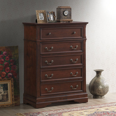 5-DRAWER BEDROOM ORGANIZER DRESSER CABINET CHEST