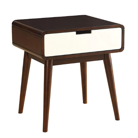 BELKIN MID CENTURY MODERN USB END TABLE