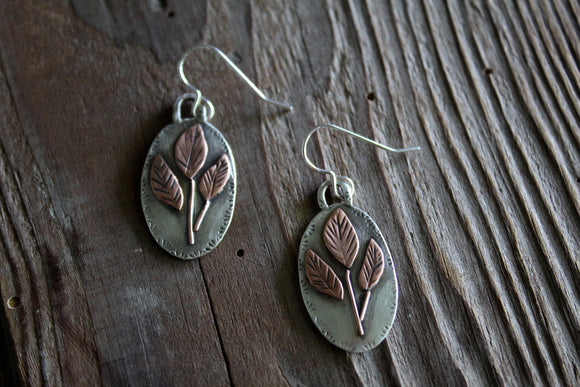 Growing Sprout Earrings