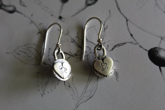 Seedling Heart Earrings