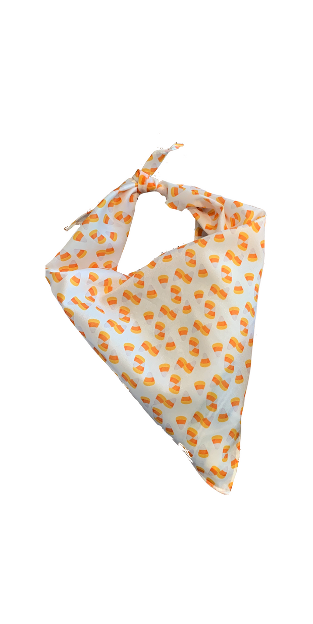 Candy Corn Dog Bandana
