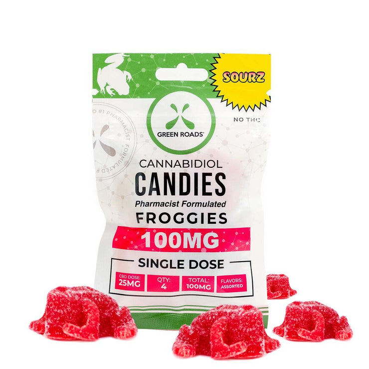 CBD Sourz Froggies - 100 MG