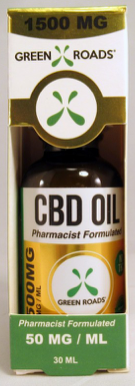 CBD Oil - 1500Mg