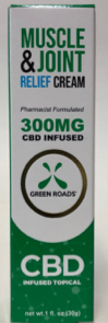 CBD Pain Cream - 300Mg