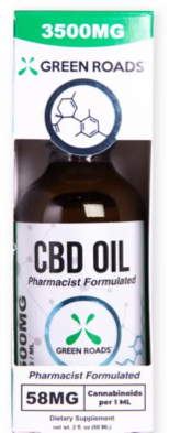 CBD Oil - 3500Mg