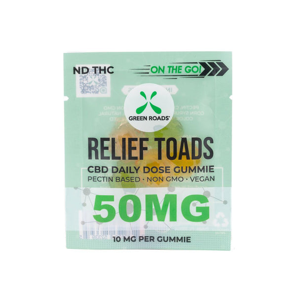CBD Relief Toads - 50 MG