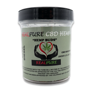 RealPure™ Inhalable Hemp Buds | Full Spectrum CBD - 3.5 Grams, Sour Diesel