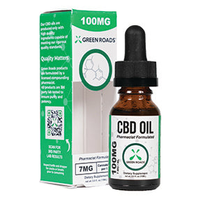 CBD Oil - 100Mg