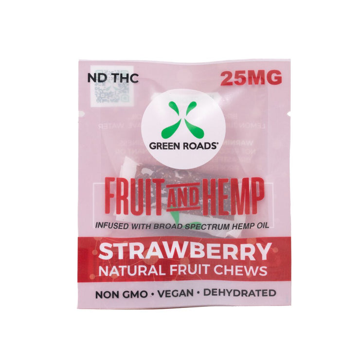 CBD Strawberry Fruit & Hemp - 25 MG