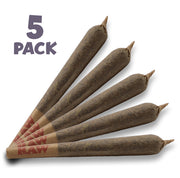 RealPure™ Inhalable Mini-Rolls | Pre-rolled CBD Hemp Cones - 5 Pack, Gelato