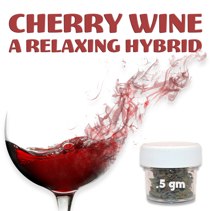 RealPure™ Inhalable Taste Buds | Full Spectrum High-CBD Strain - .5 Gram, Cherry Wine