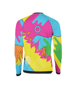 Colorful Jersey by Augusto Bartelle Fire On