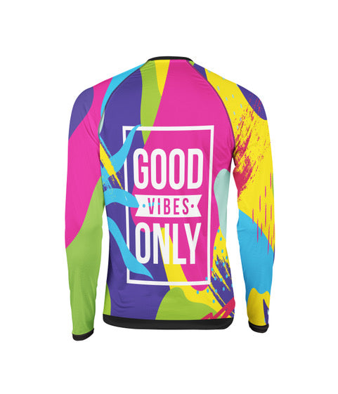 Skydiving Colorful Jersey by Augusto Bartelle Good Vibes Only