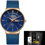 Luxury Waterproof Wrist Watch For Men