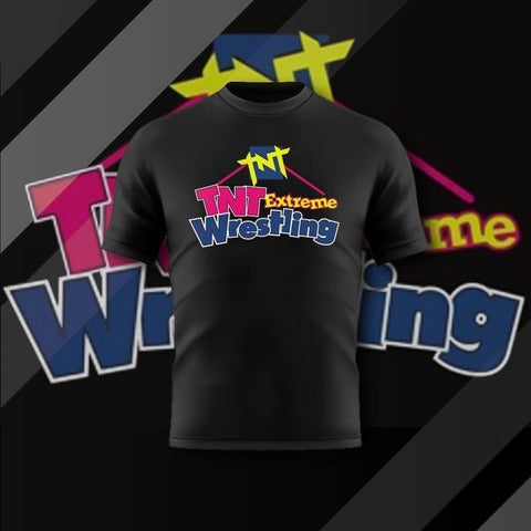 TNT Extreme Party Shirt - Pins & Knuckles Wrestling Merch United Kingdom