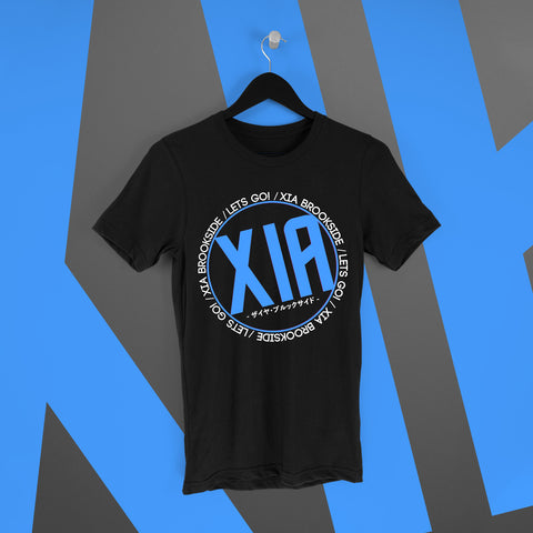 Xia Brookside: Let's Go Tee Version 1 - Pins & Knuckles Wrestling Merch United Kingdom