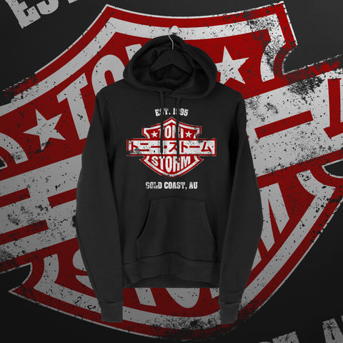 Toni Storm: Crue Hoodie - Pins & Knuckles Wrestling Merch United Kingdom