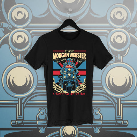 Flash Morgan: A Town Called Malice Black Tee